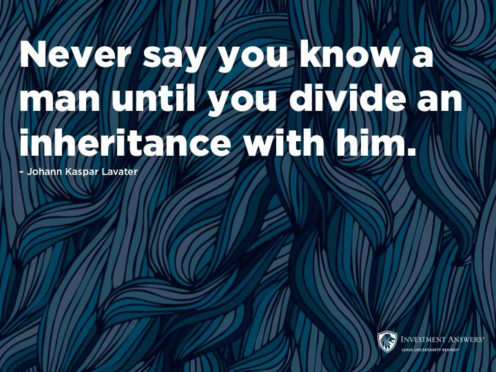 Divided Inheritance