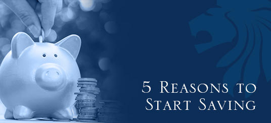 5 Reasons to Start Saving Money
