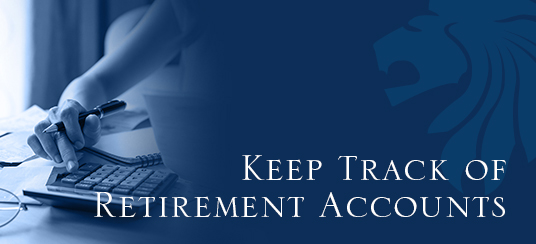 Keep Track of Retirement Accounts