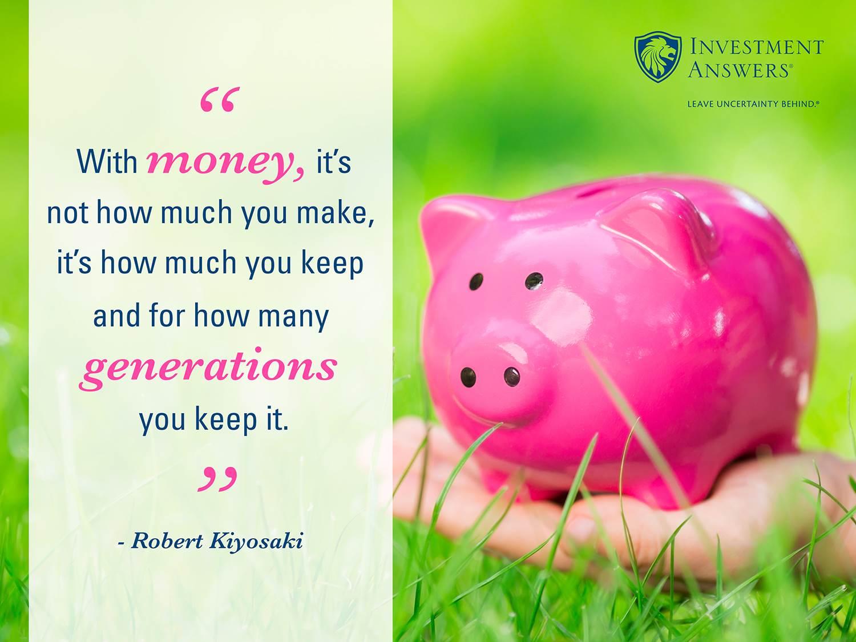 Money Make Keep_Piggy Bank_Kiyosaki